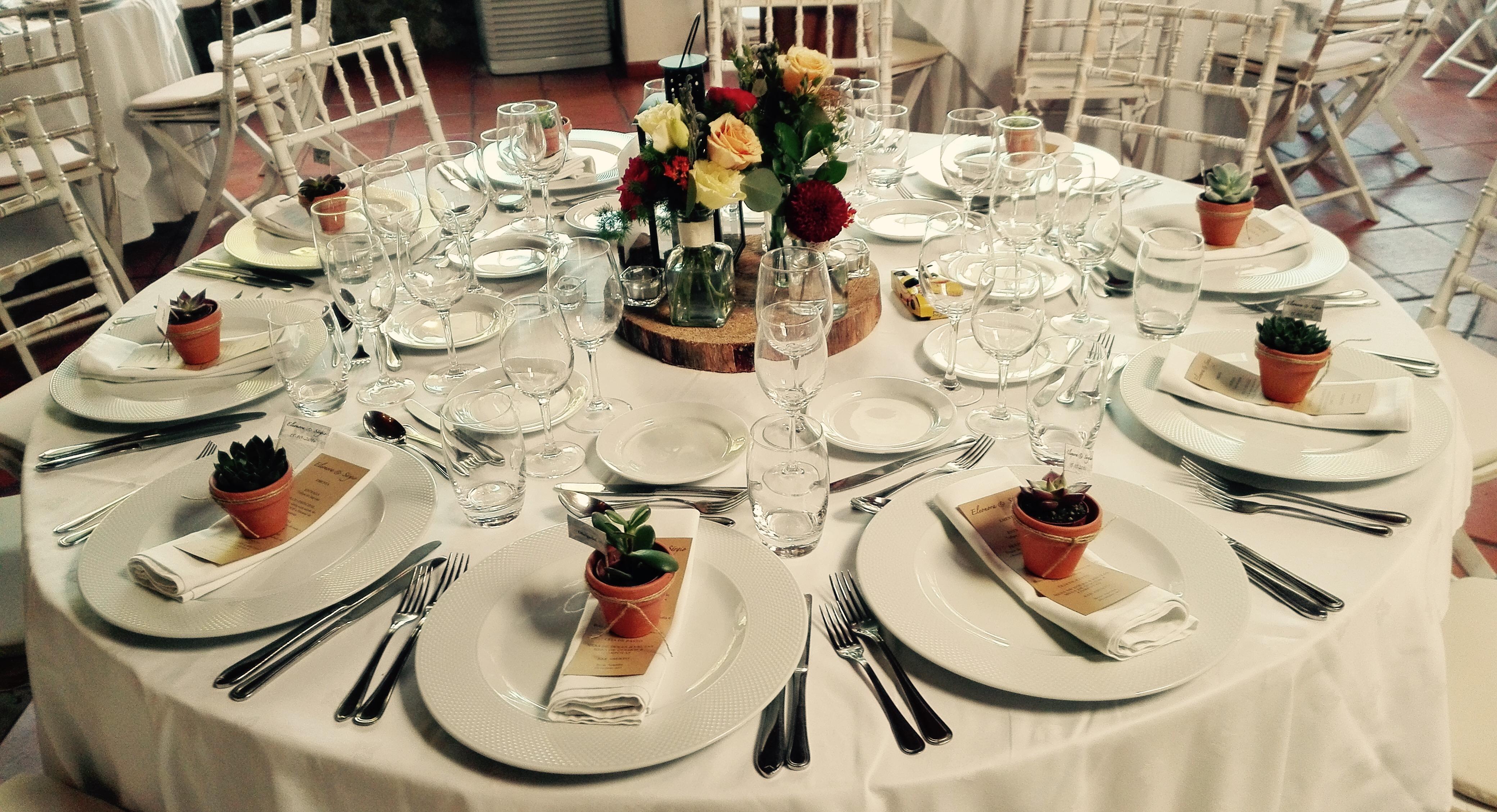 Centro de mesa By Flor de Laranjeira
