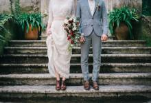 Edwardian inspiration wedding