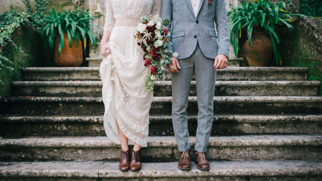 Edwardian inspiration wedding