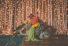 Flores num Palácio